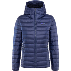 Patagonia Down Sweater Hoody Women classic navy